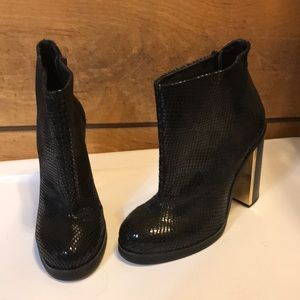 TopShop high ankle booties